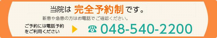 電話番号048-540-2200